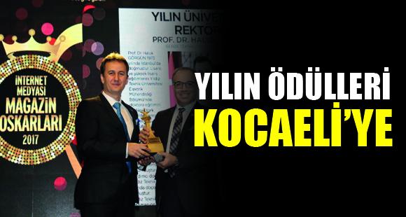 Yılın Ödülleri Kocaeli'ye