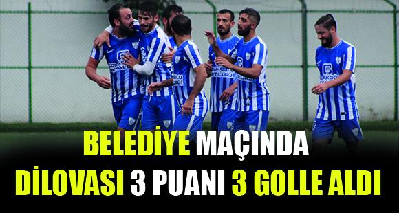 Dilovası 3 golle 3 puan aldı - 16 Ekim 2017 17:25