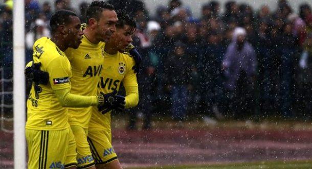 Fenerbahçe'ye Yağmur Engel Olmadı - 5 Şubat 2020 16:45