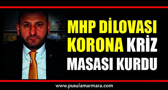 MHP Dilovası Korona kriz masası kurdu - 30 Mart 2020 16:00