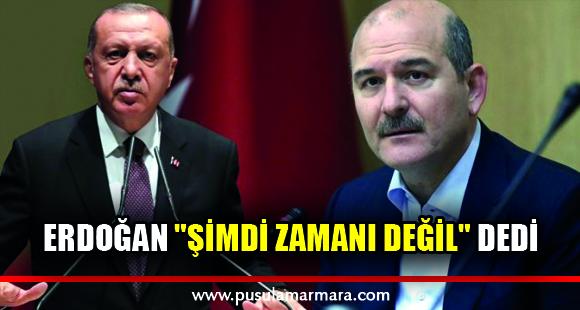 """Erdoğan'ın Soylu'nun istifa mektubunu """"Şimdi zamanı değil"""" diyerek yırttığı konuşuluyor - 12 Nisan 2020 23:52"""