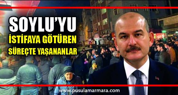 İçişleri Bakanı Süleyman Soylu'yu istifaya götüren süreçte yaşananlar - 12 Nisan 2020 23:04