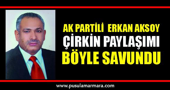 Ak Partili İzmit Belediye Meclis Üyesi Erkan Aksoy - 3 Mayıs 2020 03:32