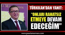 Lütfü Türkkan'dan Yanıt Geldi
