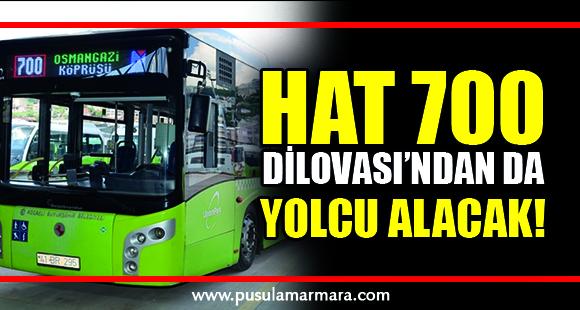 Hat 700 Dilovası'ndan da yolcu alacak! - 12 Temmuz 2020 16:33