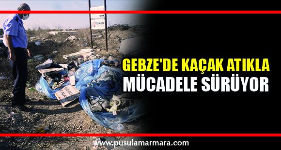 Gebze'de kaçak atığa ceza - 2 Ekim 2020 12:47