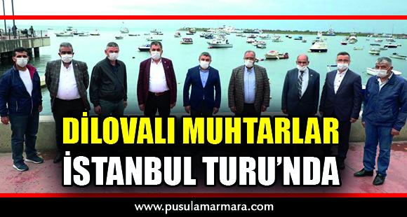 DİLOVALI MUHTARLAR, İSTANBUL TURU'NDA - 19 Ekim 2020 17:11