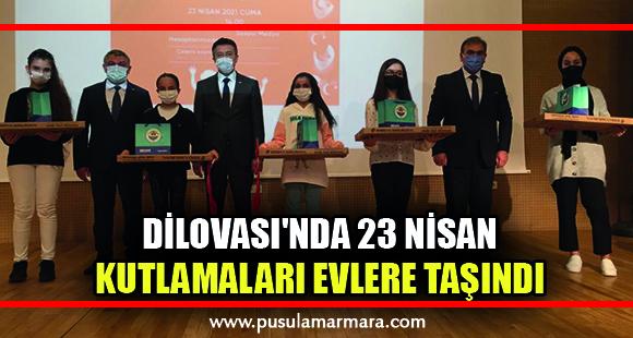 Dilovası'nda 23 Nisan kutlamaları evlere taşındı