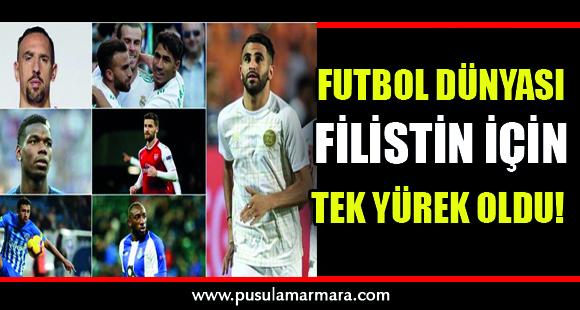 Futbol dünyası Filistin için tek yürek oldu! - 11 Mayıs 2021 01:18