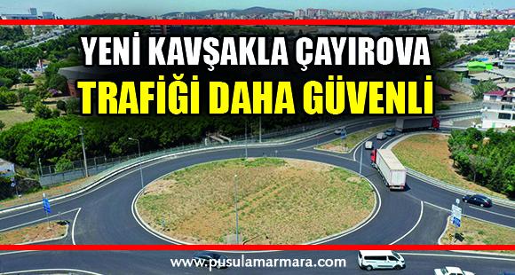 Çayırova Çiftlik Caddesi'ndeki yeni kavşakla trafik daha güvenli - 12 Ağustos 2021 22:13