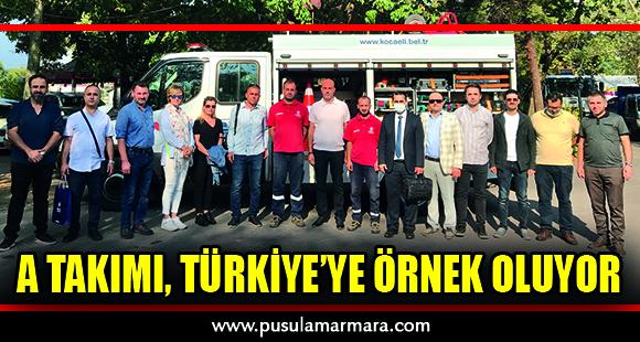 A Takımı, Türkiye'ye örnek oluyor - 1 Eylül 2021 13:04