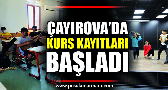 Çayırova'da kurs kayıtları başladı - 8 Eylül 2021 19:43