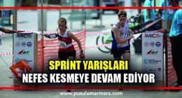 Sprint Yarışları nefes kesti